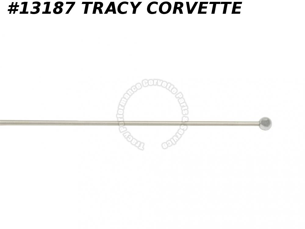 1967-1968 Corvette Antenna Mast GM# 3875700 Service Replacement C2 C3