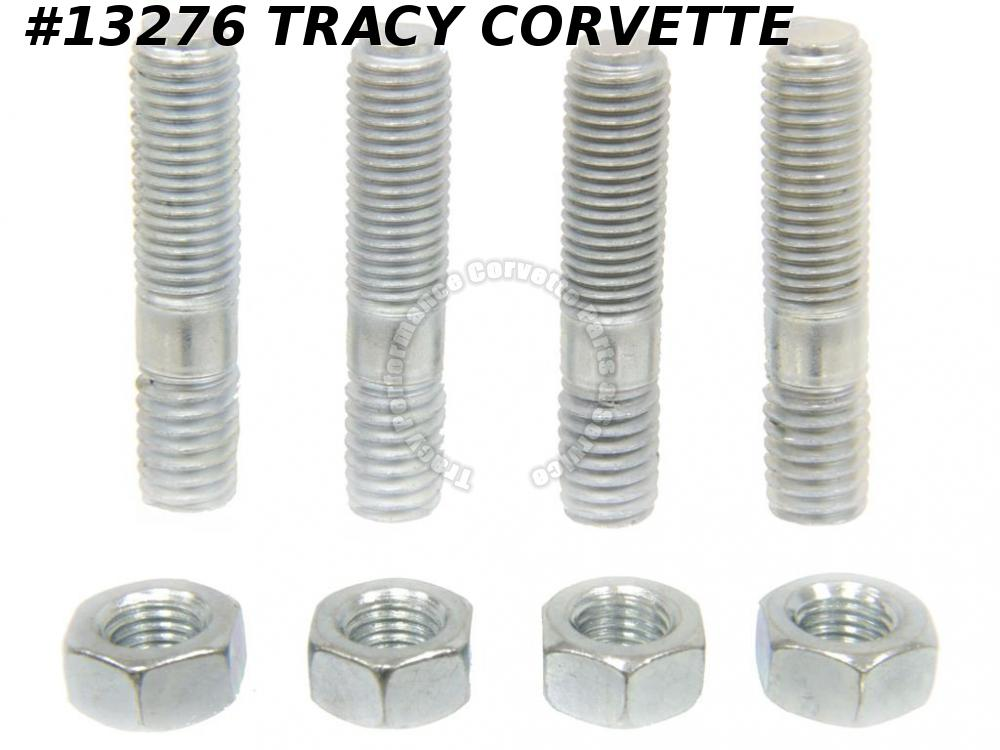 1956-1972 Corvette 3836527 WCFB AFB Holley Carb Mounting Studs & Nuts Kit