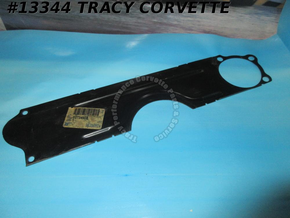 1955-1962 Corvette Bell housing Clutch Inspection Access Cover 3734908 Chevrolet