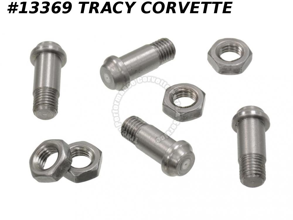 1963-1982 Corvette Ball Joint Rivet Threaded Type for Lower Control Arms