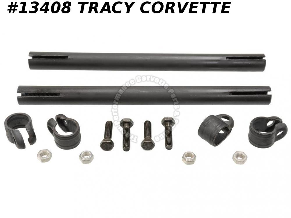 1963-1982 Corvette 3826816 Tie Rod Tube Sleeve With Clamps Bolts ***In Stock***