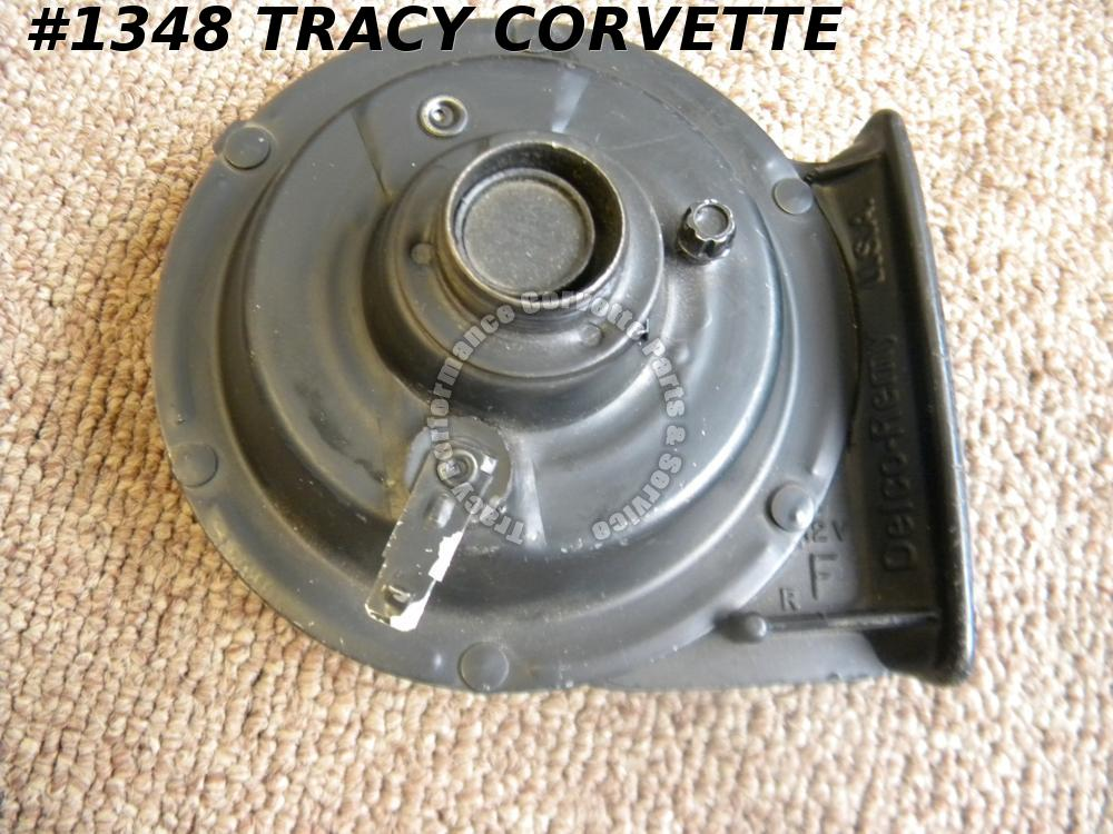 1955-1982 Corvette NOS Replacement 8203 F-Note Delco Horn Also Fits Other Cars!