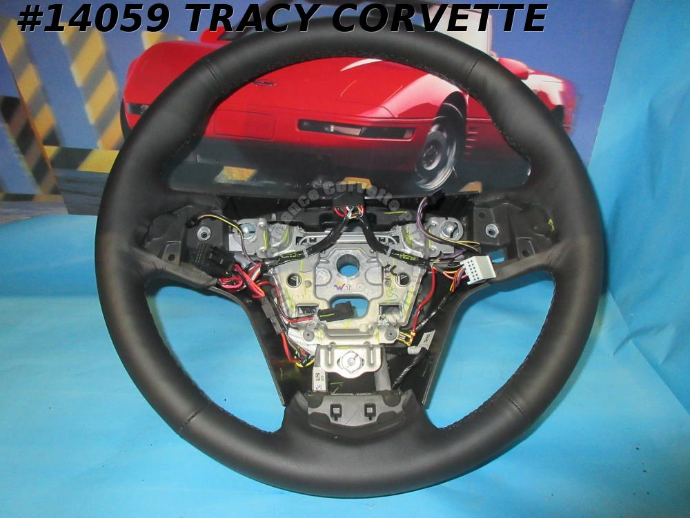 2015-2019 Cadillac CTS Black OEM GM# 23360213 Steering Wheel New Thin Take Off