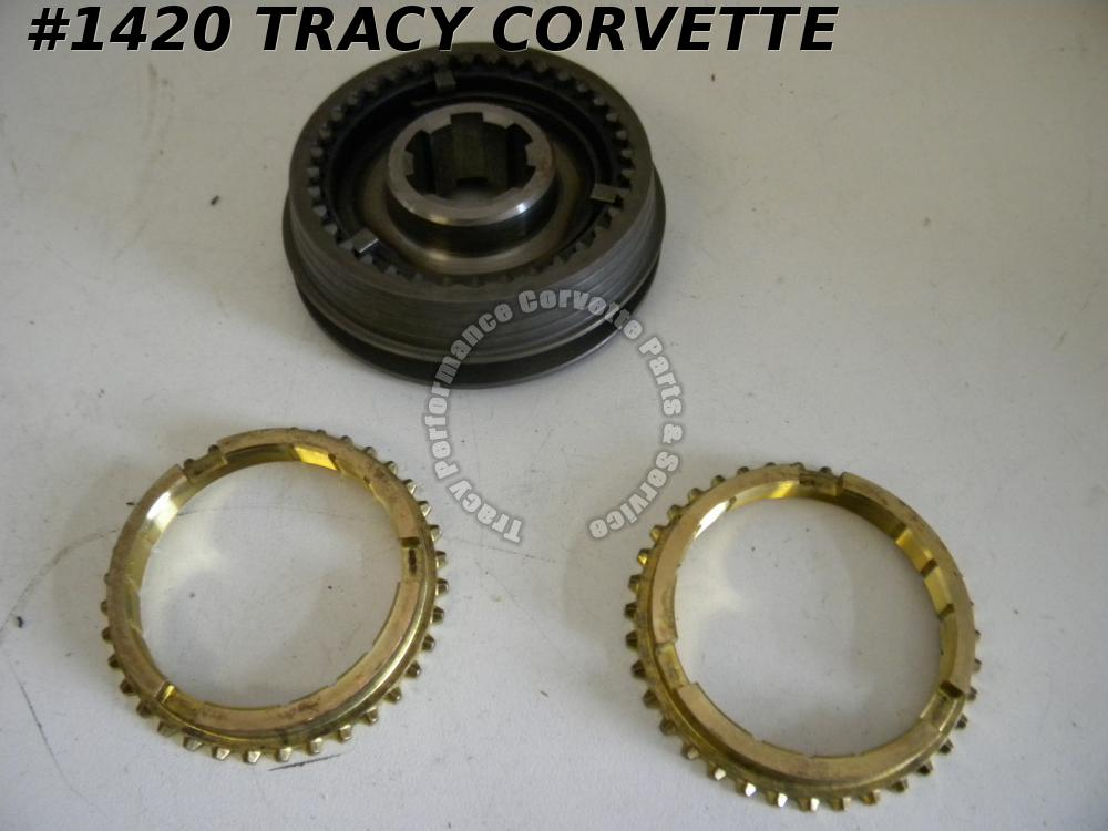1982 Camaro NOS 14101338 M24 Transmission Sychronizer Assembly 3rd & 4th Gears
