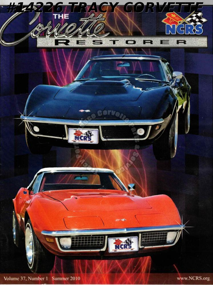 Vol 37 No 1 Summer 2010 The Corvette Restorer #3 Cunningham Car LeMans