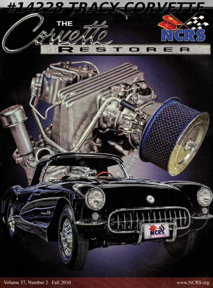 Vol 37 No 2 Fall 2010 The Corvette Restorer National Convention