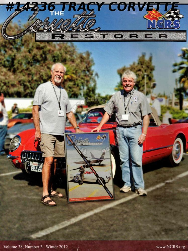 Vol 38 No 3 Winter 2012 The Corvette Restorer Hallstrom 1968 L88 Ferguson 1955