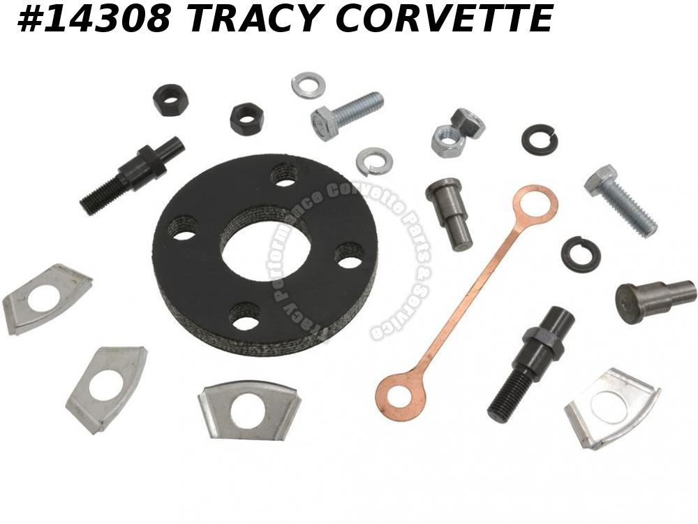 1963-1966 Corvette Steering Column Coupler Repair/ Rebuild Kit - Deluxe No Tele