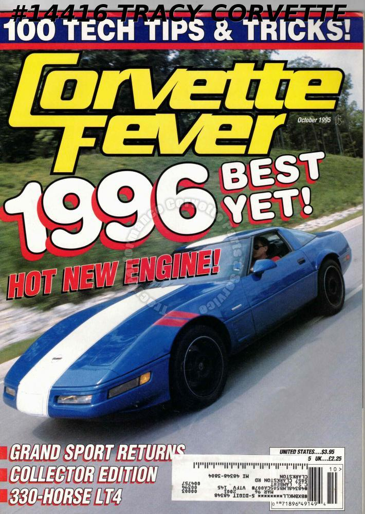 October 1995 CORVETTE FEVER Grand Sport Collector Edition 330-Horse LT4