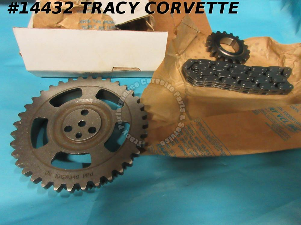 1992-1994 Chevrolet Camaro Corvette Pontiac 5.7L OHV Timing Chain Kit GM10128349