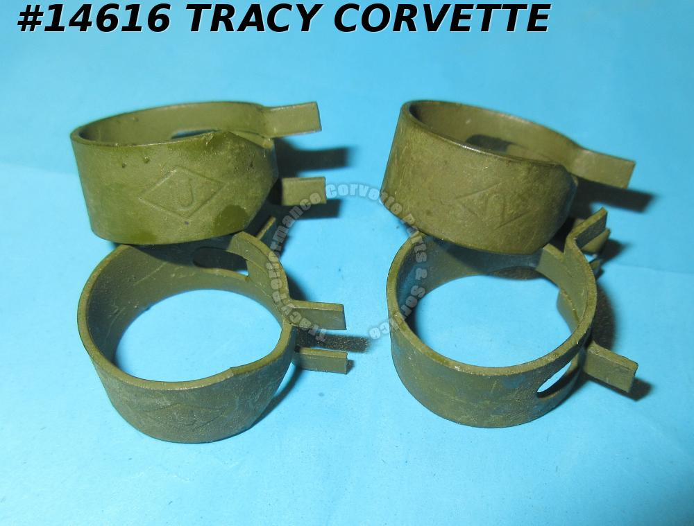 "1964-1982 Corvette Fuel Line Spring Clamp GM#3786276 340392 Olive Green""<U>"" 100"
