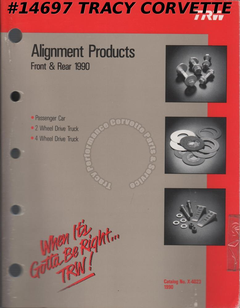 1990 TRW Alignment Products Front & Rear Catalog