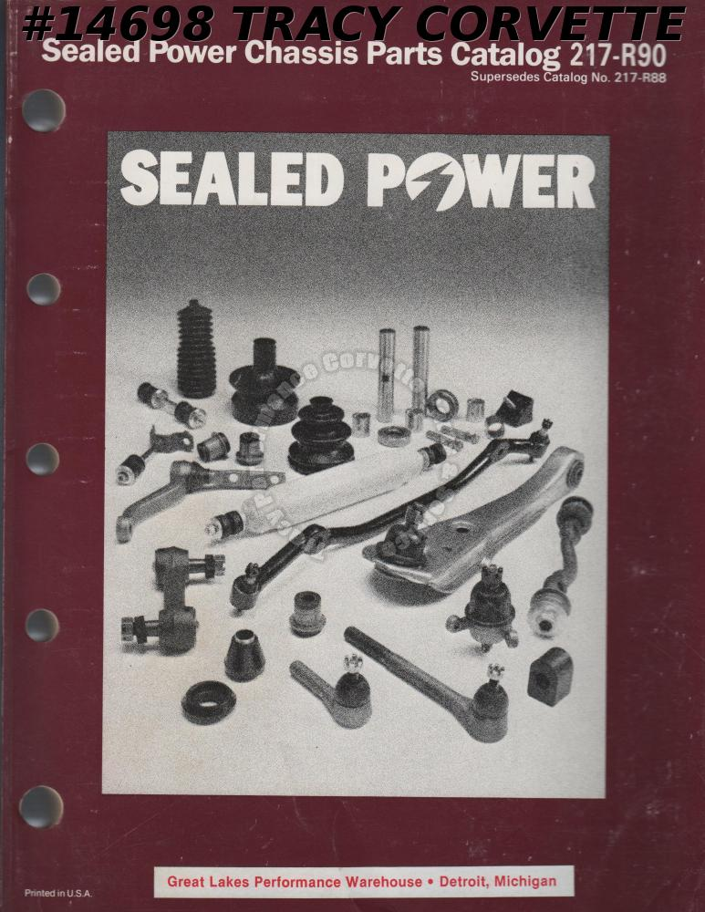 Sealed Power Chassis Parts Catalog 217-R90