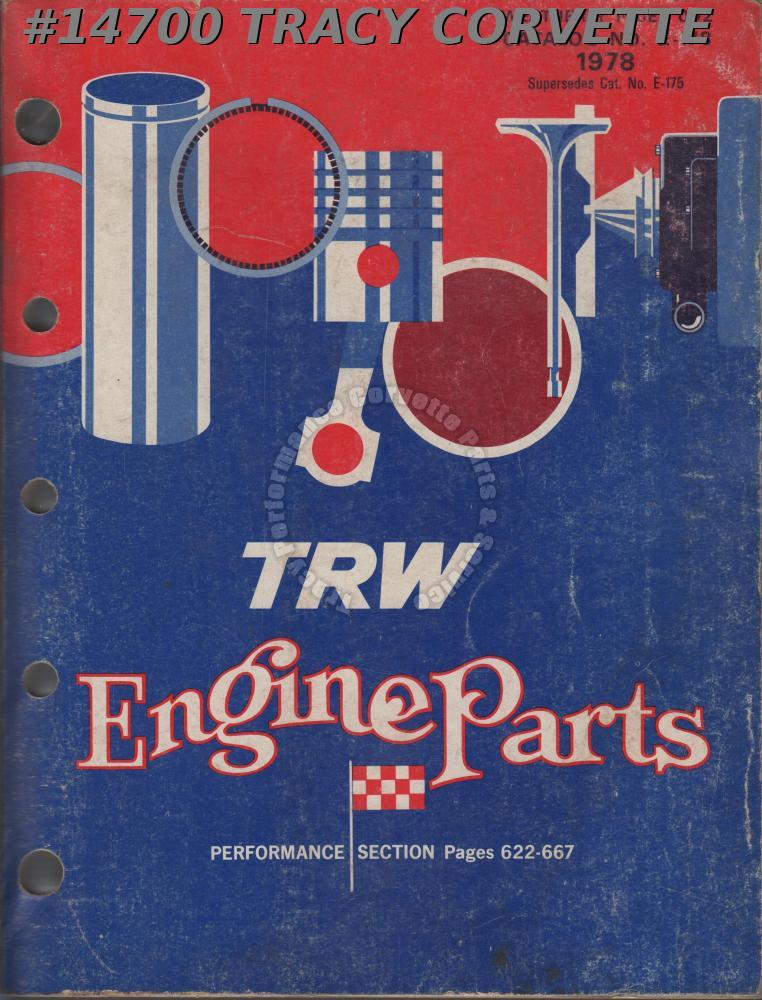 1978 TRW Engine Parts Catalog No. E-178