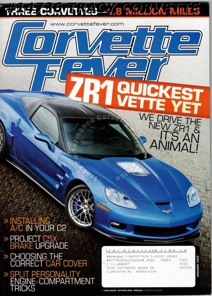 Magazines Tracy Performance Corvette Sales Parts And Service