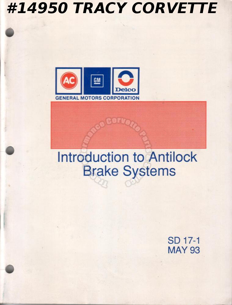 1993 GM Introduction to Antilock Brake Systems SD 17-1