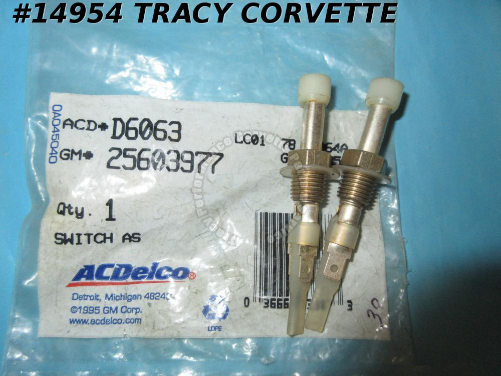 86-87 Camaro Caprice Monte Carlo Ported Thermal Vacuum Switch NEW GM 963