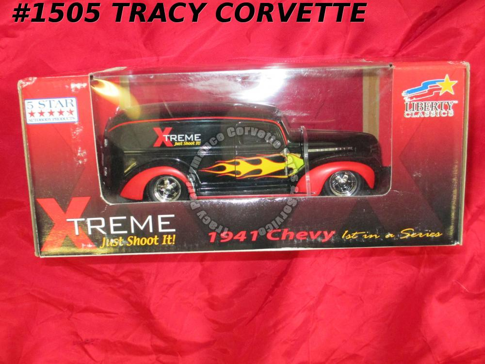 1941 Chevy Chevrolet Street Rod CHEVY41 1/25th Xtreme Die-Cast Liberty Classics