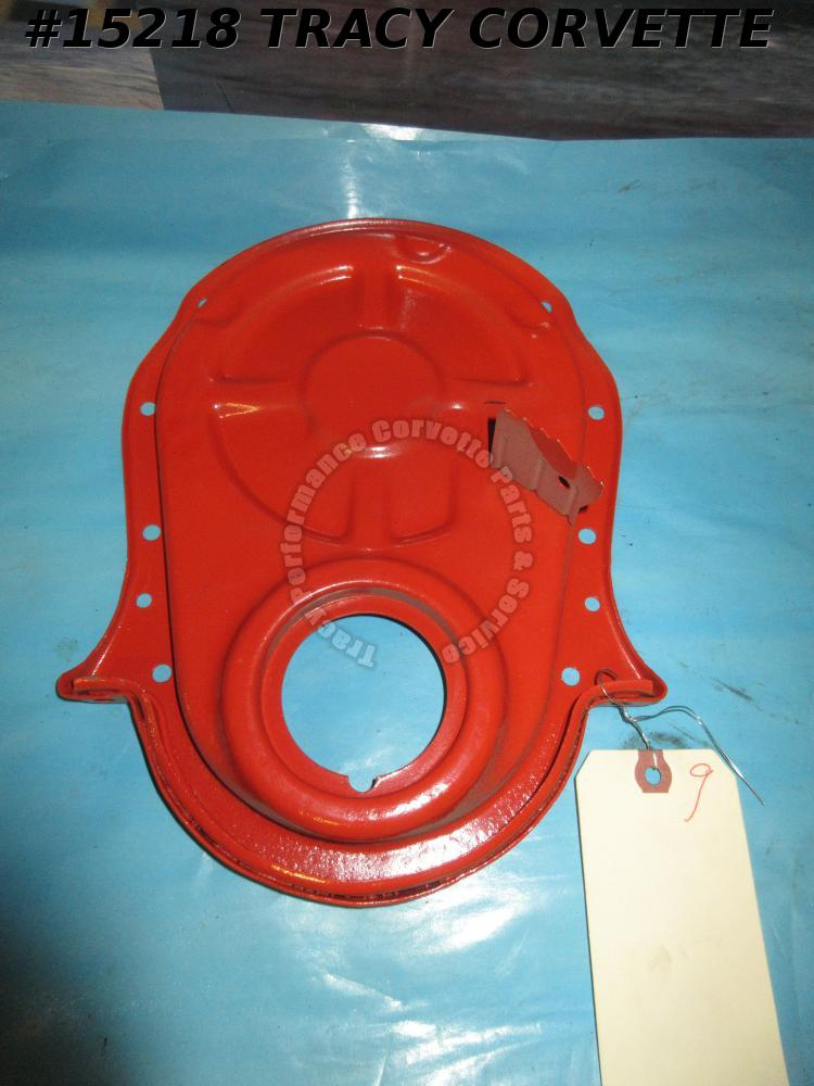 "1969-1974 Chevrolet Timing Chain Cover GM330850 8"" balancer 427 396 SHP Tall Tab"