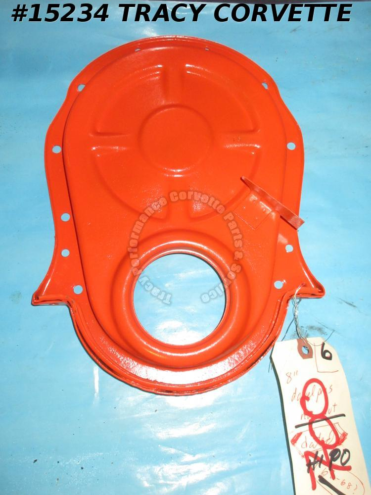 "1967-1969 Chevrolet Timing Chain Cover GM330850 8"" balancer 427 396 SHP Rare Tab"