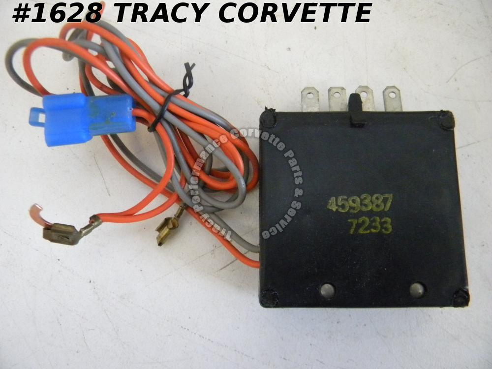 1977-1978 Camaro/Firebird NOS 459387 Headlight Monitor Warning Alarm Buzzer 77