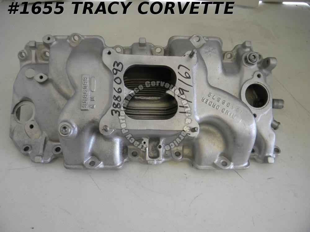 1968 Corvette Used 3886093 L-88 Alum High Rise BBC Large Port Open Plenum Intake