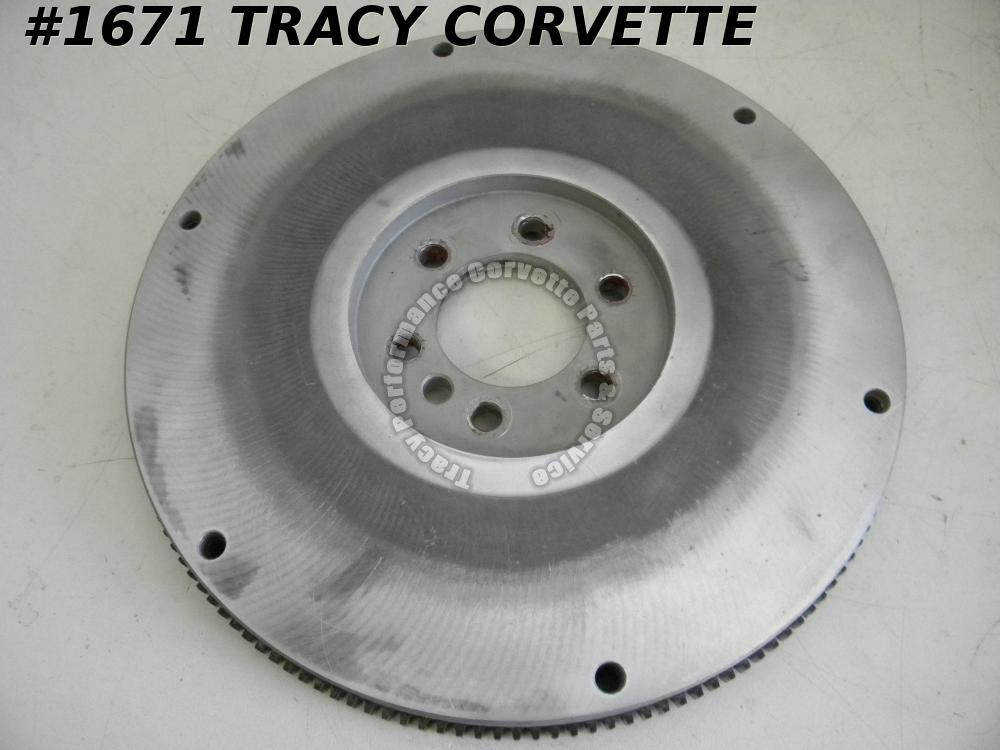 "1960s-70s Schieffer Aluminum 153 Tooth Flywheel 13"" OD 10.5"" 153 Teeth 30-22013"