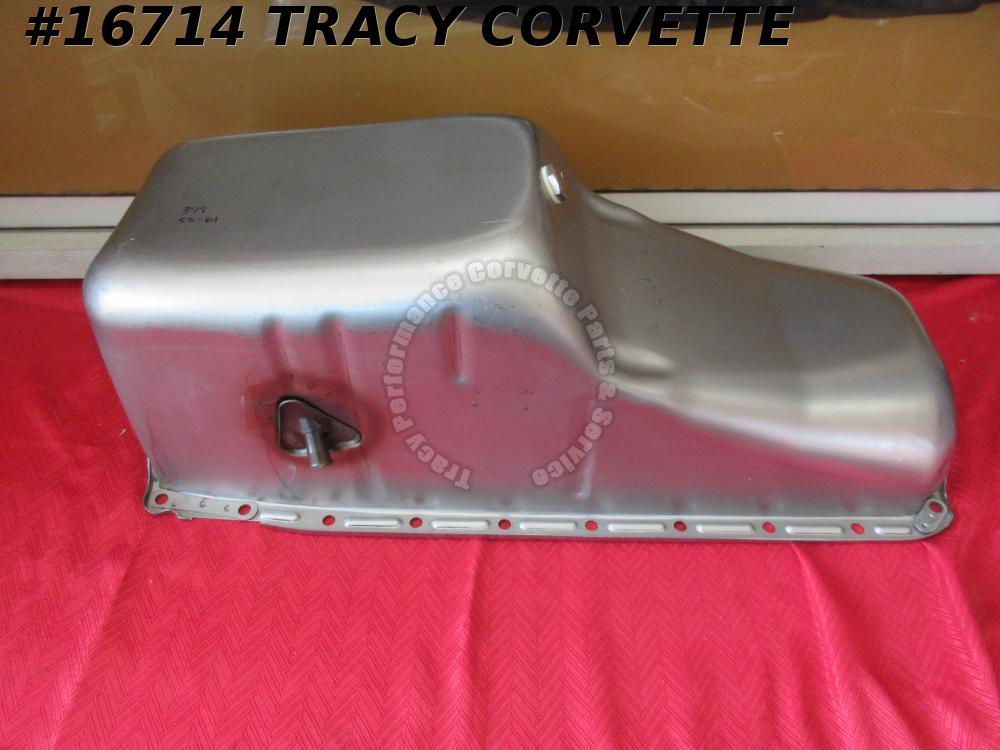1958-1961 Chevrolet 348 Oil Pan Impala Bel Air Biscayne W series Mark 1