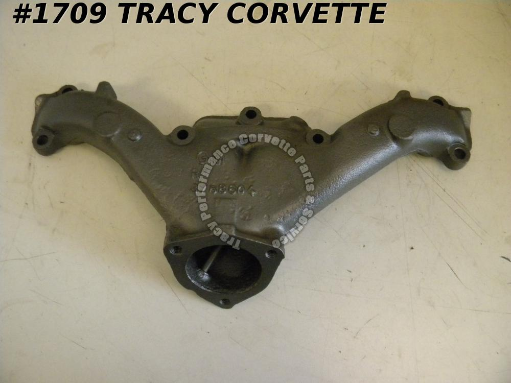 "1958-1965 Chevrolet Exhaust Manifold RH 3788604 348-409 2.5"" Rare Reconditioned"