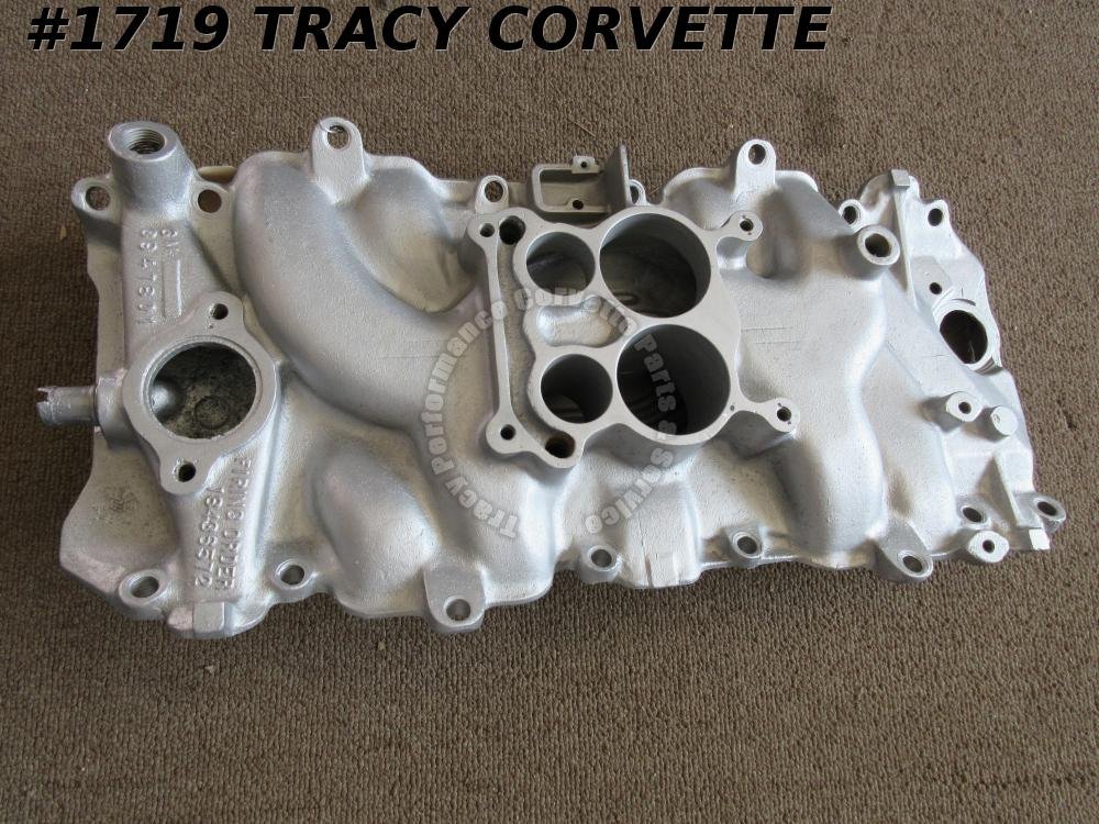 1969 Corvette 3947801 Low Rise BBC Alum Intake Manifold Oval Port 12-4-68