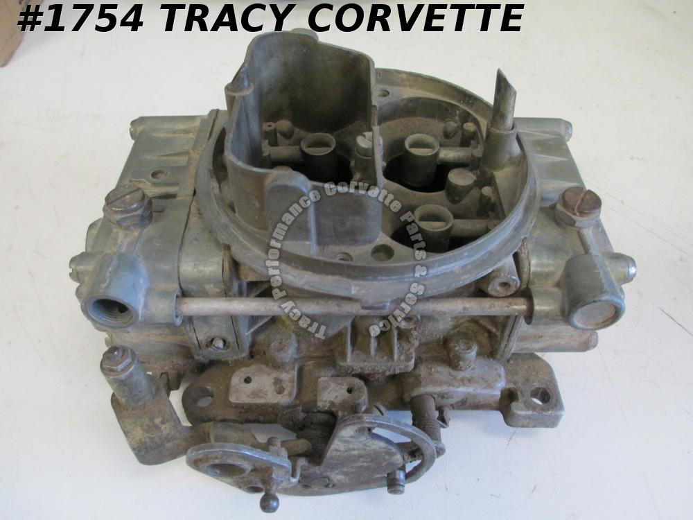 1955-1980 Holley 4224 1449 660 CFM Tunnel Ram Carb Needs Rebuilding before Using