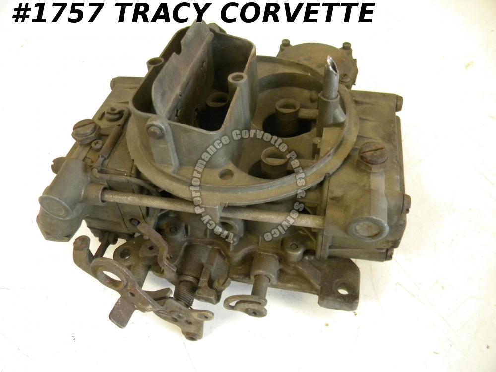 1966 Chevy Chevelle Etc 3886087 Holley Carburetor List 3419 360 HP Date 613