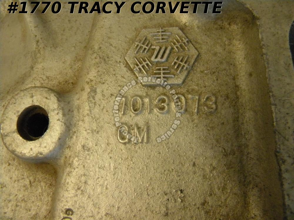 1955-80 GM/Industrial/Marine Used 7013073 Aluminum Intake Dated 11/12/64