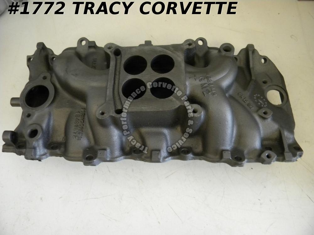 1966-1967 Corvette Chevrolet Used 3866948 BBC Iron Holley Intake Manifold Dated