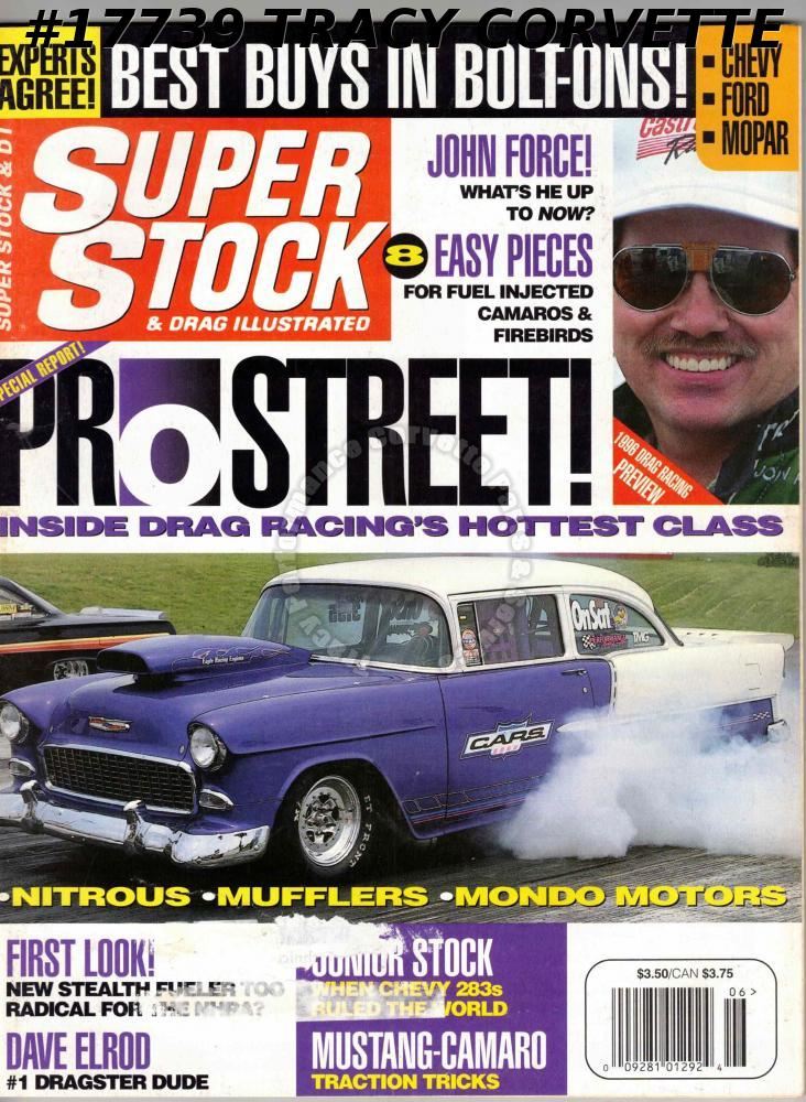 June 1996 Super Stock & Drag Illustrated John Uyeyama Al Hofmann