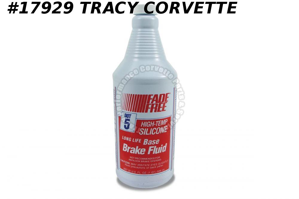 1953-2019 Corvette Brake Fluid Silicone Quart