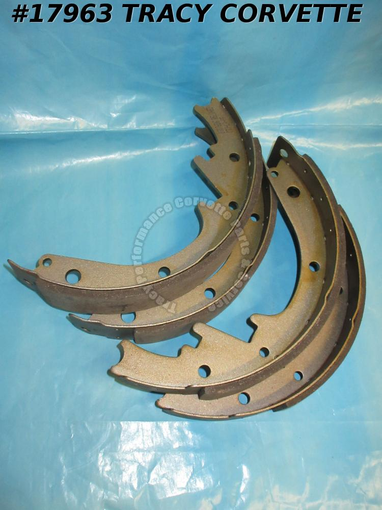 1953-1964 Corvette Brake Shoe Set    53-62 Front And 63-64 Rear
