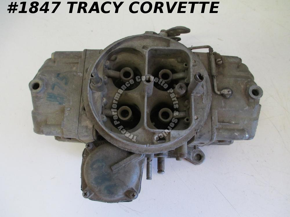 1955-1980 Holley 4 BBL Racing Carburetor Needs Rebuilt, Converted to Manual Sec.