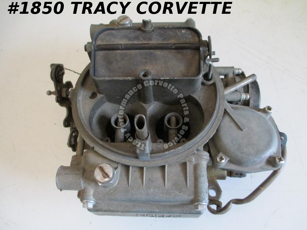 Holley 600 CFM Carburetor Chevy Ford List 6619-1 dated 2214 4 BBL Needs Repair