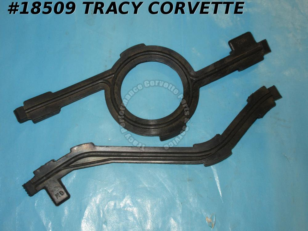 1957-1965 Chevrolet Corvette Intake End Seals with logos