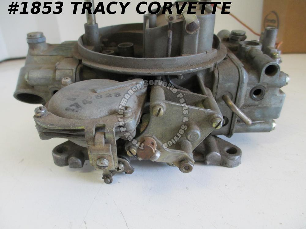 1964-1970 Holley 3310-2 Used 750 CFM Carburetor dated 0833 Needs Repair or Parts
