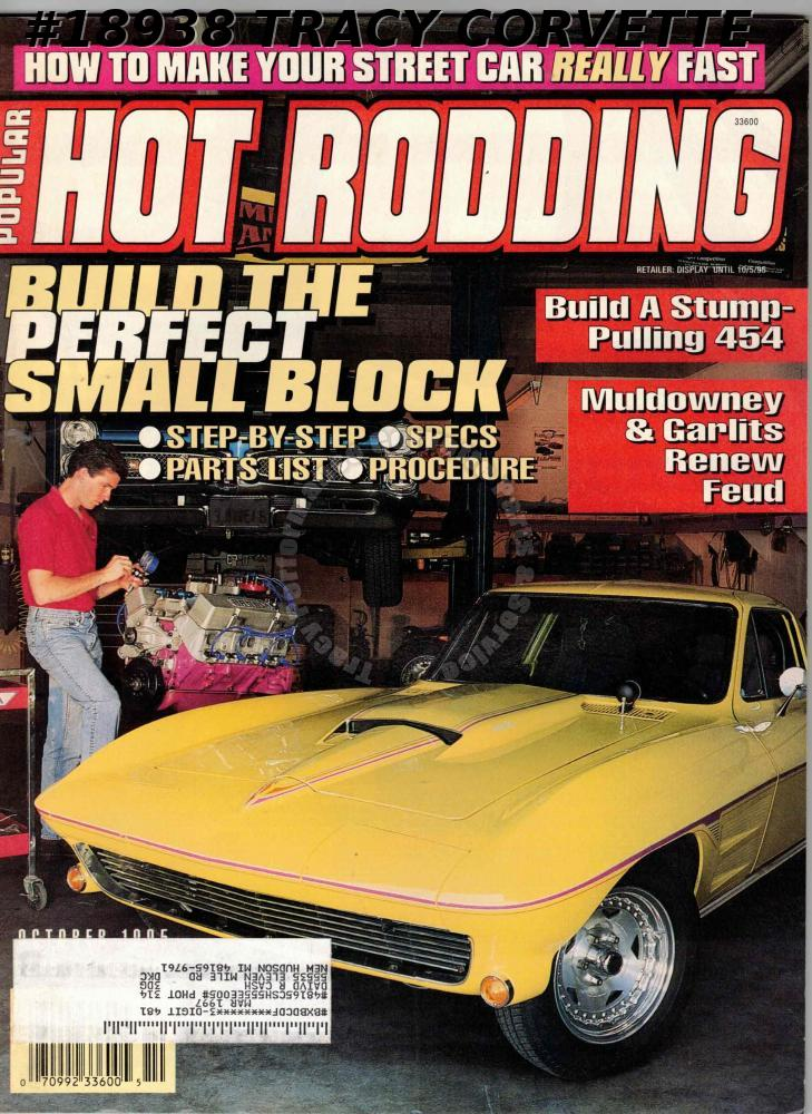 October 1995 Popular Hot Rodding Smokey Yunick Buick 1972 GS 455 Muscle
