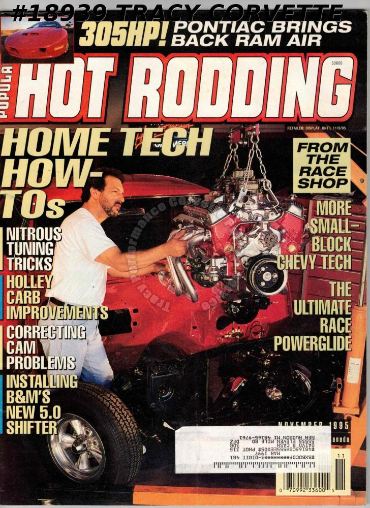 November 1995 Popular Hot Rodding Pontiac 1965 GTO Zora Arkus-Duntov