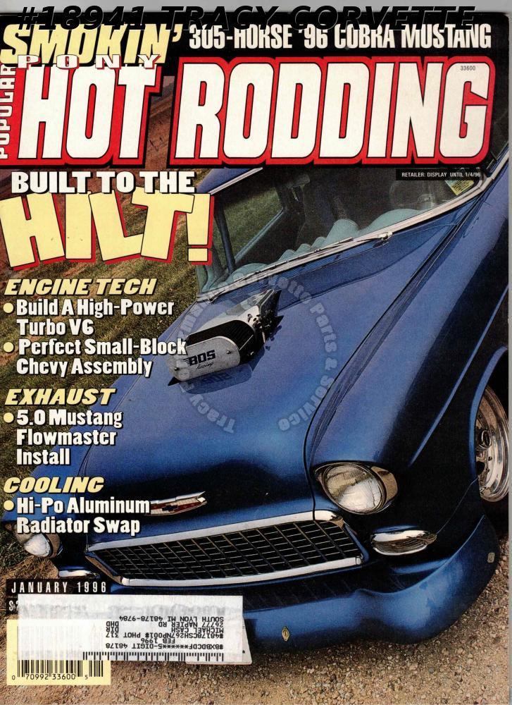 January 1996 Popular Hot Rodding 305 HP 1996 Cobra Mustang