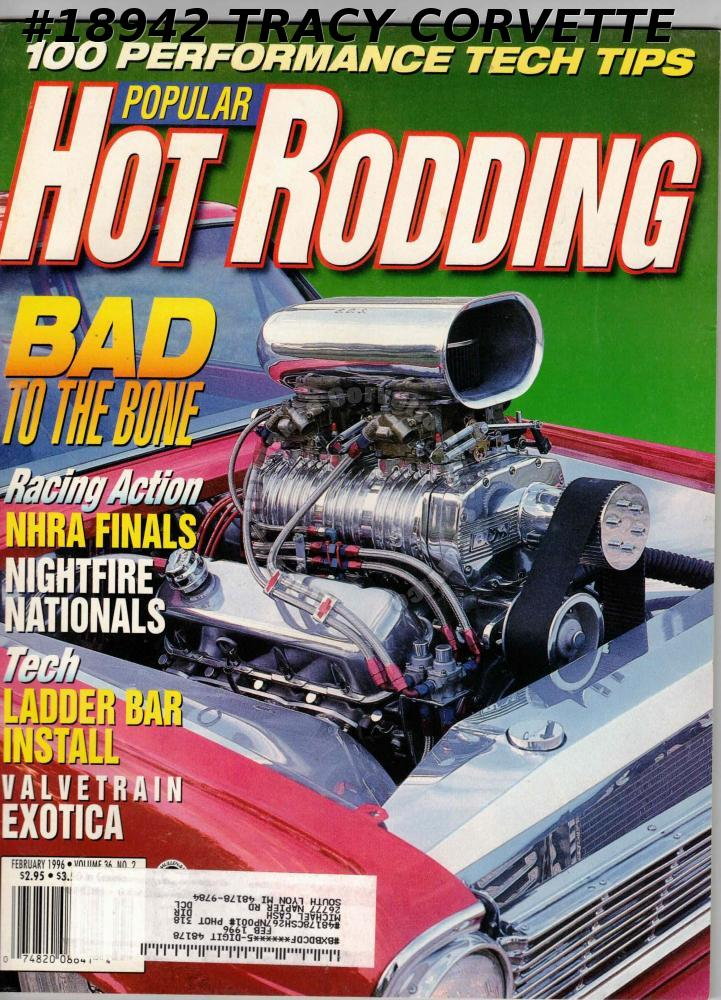 February 1996 Popular Hot Rodding Duane Diabo Buick Tim Strange 1954 Chevy