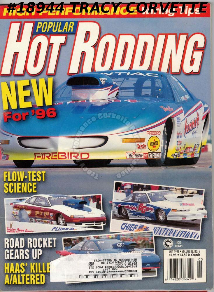 May 1996 Popular Hot Rodding Phillip Henson Georgia Dart Studebaker