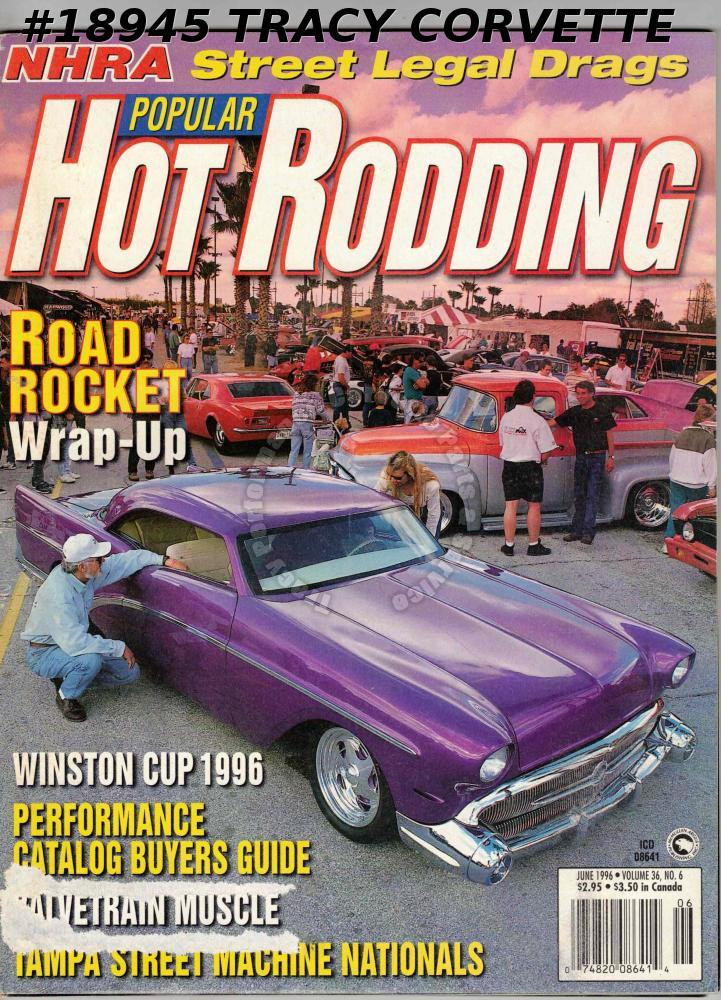 June 1996 Popular Hot Rodding Mick Russell 1964 Impala Winston Cup