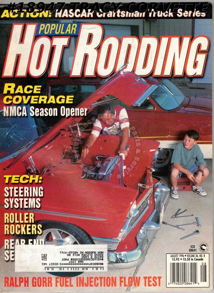 August 1996 Popular Hot Rodding NASCAR Trick Trucks Bob Randall 1964 Dodge