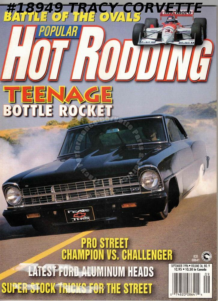 September 1996 Popular Hot Rodding BG Fuel Systems Sean Torres 1967 Nova