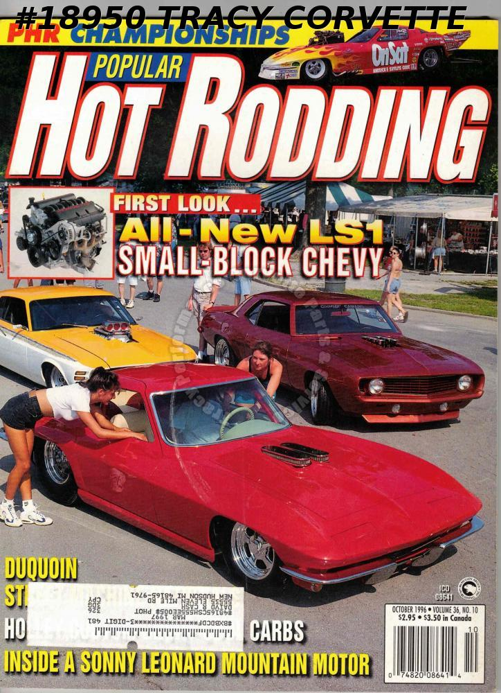 October 1996 Popular Hot Rodding Conley V6 Pro Low Corvette